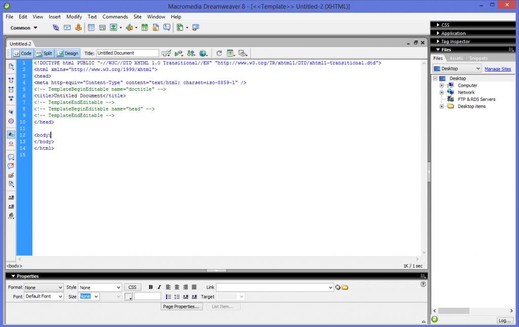 Cara Membuat Web Design