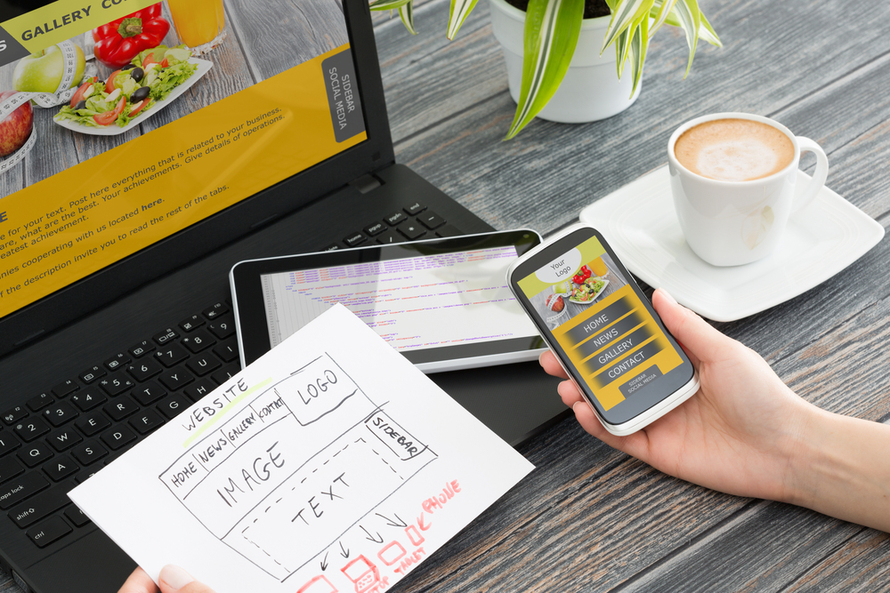 Desain website responsif